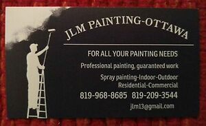 Painter with experience,custom houses,spray painting,int-ext. Gatineau Ottawa / Gatineau Area image 1