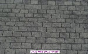 DOLLS-HOUSE-GREY-SLATE-ROOF-WALLPAPER-NEW-JULIE-ANNS
