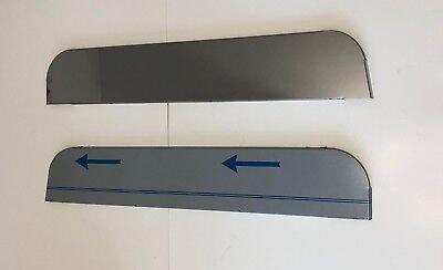 "5"" SS Chop Top Door Trim For Kenworth Series W900L W900B T800 T600 T660 T330 for sale  El Paso"