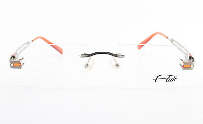 FLAIR Randlose Brille Mod. 768 Col. 331 Minimal Rimless Eyeglasses Frame NEW