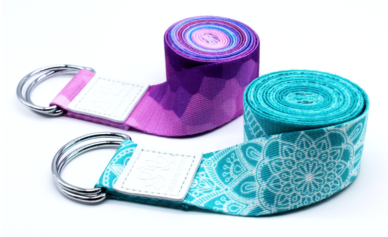 Yoga Gurt Fitness Yogagurt Yogagürtel Strech Gürtel Pilates Gymnastik Belt