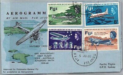 GP GOLDPATH: FIJI COVER 1968 FIRST FLIGHT COVER _CV699_P16