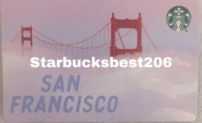 Starbucks San Francisco Gift Card 2020