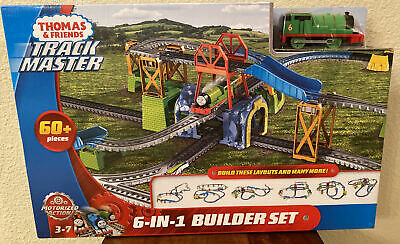 TOY TRAIN TRACK SET KIDS Thomas And Friends Play Motorized TrackMaster Percy
