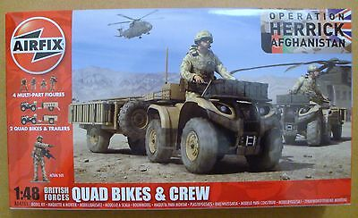 AIRFIX® A04701 British Forces Quad Bikes & Crew Afghanistan in 1:48