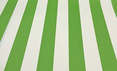 - RICHLOOM CABANA STRIPE CITRUS GREEN WHITE OUTDOOR FURNITURE FABRIC BY THE YARD