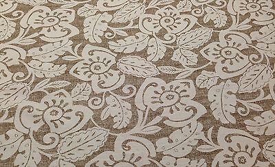 MAGNOLIA HOME AMAZON COFFEE LINEN BROWN FURNITURE FABRIC BY