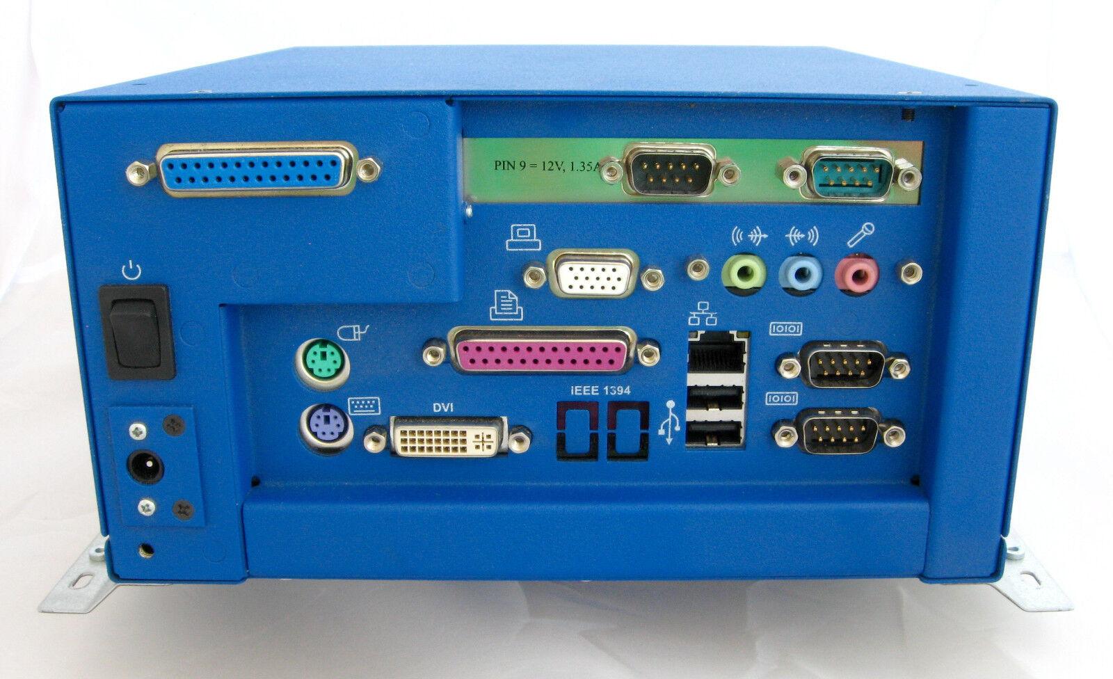 Industrie-PC DSM 96M1555CL-BZA, lüfterlos und geräuschlos
