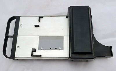 Newbold Addressograph Manual Credit Card Imprinter Slider Flatbed