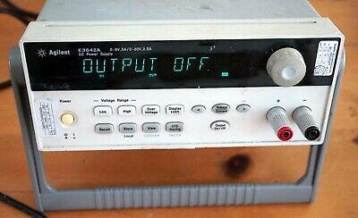 Agilent E3642a Dc Power Supply 50w 8v 5a Or 20v 2.5a