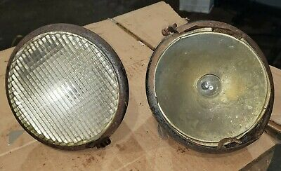 Minneapolis Moline Z Tractor Head Lights 6v 7 Vintage Giude Lights Moline Mm