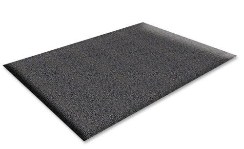 "Genuine Joe Vinyl Anti-Fatigue Floor Mat, 24"" x 36"", Black (GJO70370) - NEW"