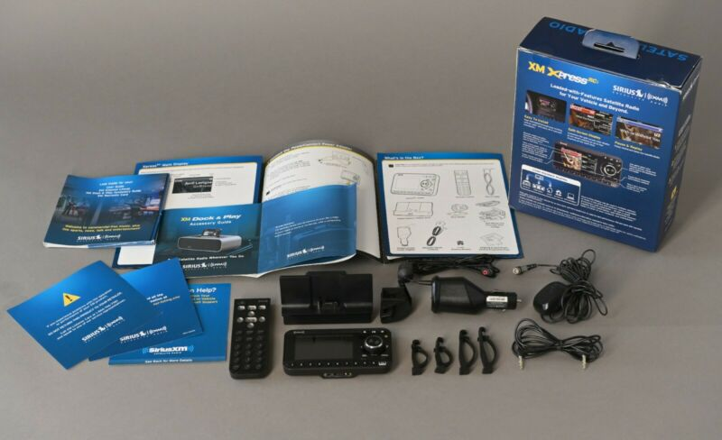 XM Sirius XDRC2V1 Xpress RCi & Vehicle Kit