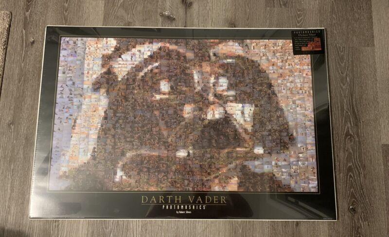 Star Wars Lord Vader PHOTOMOSAIC 24x36 Poster By Robert Silvers New Sealed