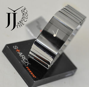 NEW PHILIPPE STARCK SILVER MIRROR VIELED WATCH PH5017 LADIES WITH ORIGINAL BOX