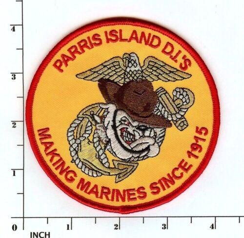 USMC Marine Corps Drill Instructor PATCH Parris Island Bulldog! Marines ! DI Hat