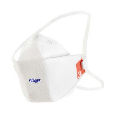 Kinder & Frauen ohne Ventil Dräger X-plore 1930 FFP3 Größe S Atemschutzmaske