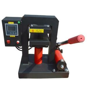Manual Hydraulic Oil Extract Oil Press Rosin Press 5x5 inch 14000 PSI #110222