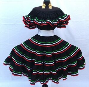 Unique Details About Mexican Fancy Dress Costume  Ladies Mexican Woman Dress