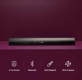 Majority Snowdon II Soundbar 2.1 ch with Built-In Subwoofer Surround Sound
