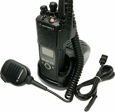 Motorola Xts5000 Ii Vhf P25 Digital Two Way Radio Smartzone Aes Des Adp Impres