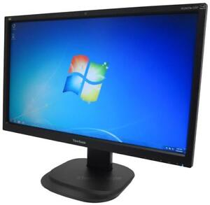 VIEWSONIC 24 INCH HIGH RESOLUTION 1080P LED COMPUTER MONITOR - YOU WILL BE AMAZED AT THE PRICE !!