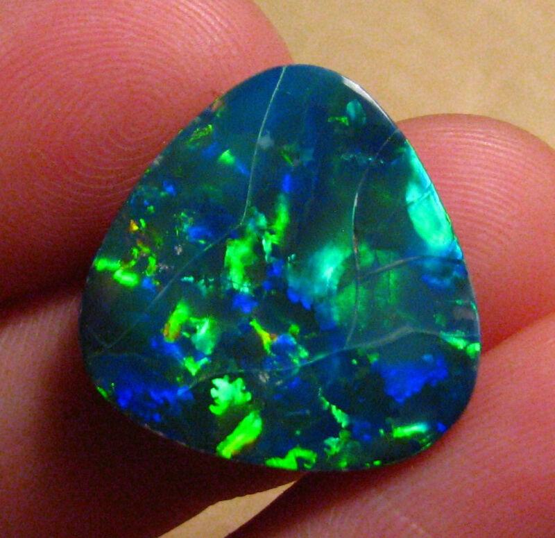 O&co Australian opal doublet coober pedy 9ct