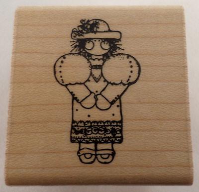 Best Little Girl Costumes (Dots Little Girl Sunday Best Dress Up Costume  Wooden Rubber)