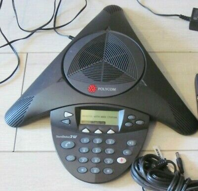 Polycom Soundstation 2w Ex 2201-67800-001 Dect 62.4 Ghz Wireless Conference