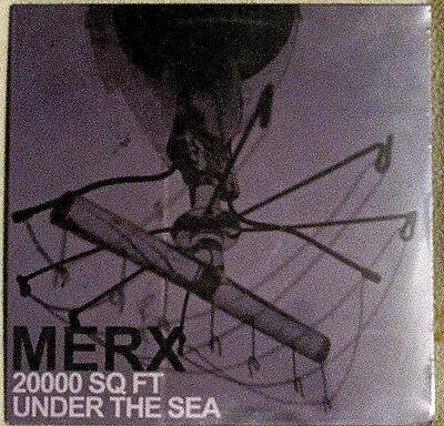 Merx 20000 Sq Ft Under The Sea 2013 Permanent Recs   Perm 037 Indie Rock  Ss Lp