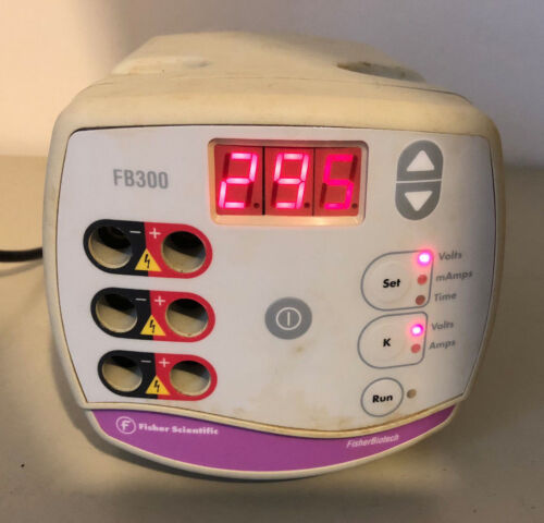 Fisher Scientific FB300 Electrophoresis Power Supply 300 Volt Fisher Biotech