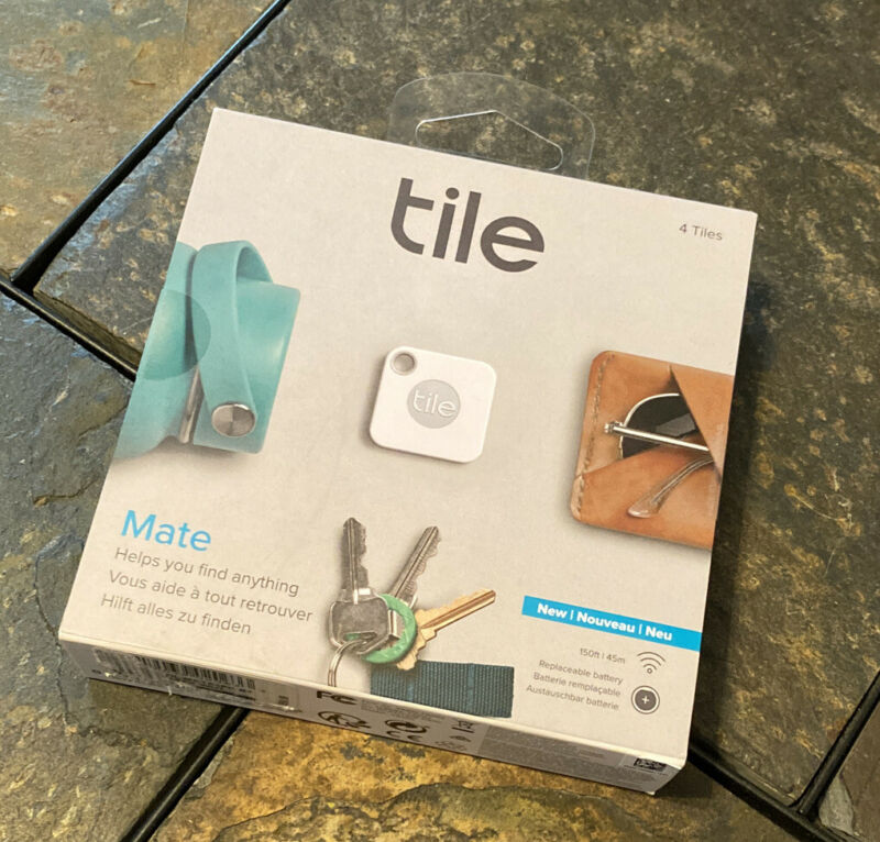 Tile Mate - Bluetooth GPS Locator - T5001 - 4 Pack **NEW / FREE SHIPPING**