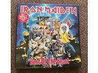 "IRON MAIDEN ""BEST OF THE BEAST"""