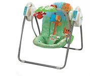 Fisher Price Rainforest Open Top Take along swing