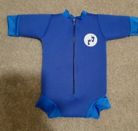 swimming nappy and wetsuit all in one like splash about