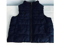 Baby Gap body warmer & hat, immaculate as shown in pictures, take both at only £10