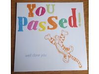 30 Disney Tigger -You Passed, Well Done You! Congratulations Cards