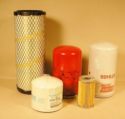 Kubota L3010 L3130 L3410 L3430 L4330 Filter Kit Hst Models - Top Quality
