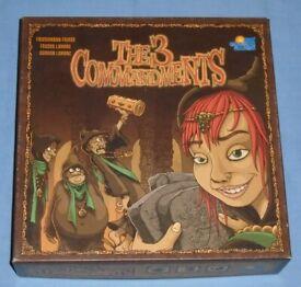 'The 3 Commandments' Board Game