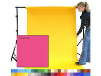 Photographic Studio Background Paper Roll - 4 Colors