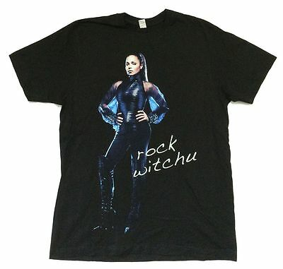 Janet Jackson Rock Witchu 2008 Tour Usa Cdn Black T Shirt Official Nos Soft
