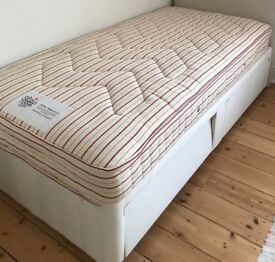 Single pocket sprung mattress and storage bed by Loaf