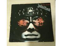 Judas Priest rare Killing Machine red vinyl album