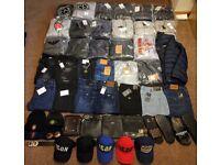 Men's Tracksuits, Jeans, Hats, Bags Bundle - Stone Island Dsquared Armani Ralph Lauren True Religion