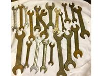 Mixed spanners x 20