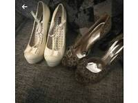 Well worn heels size 8