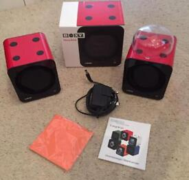 REDUCED- Two Red Boxy watch winders