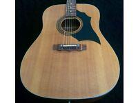 Vintage Troubadour acoustic guitar, in excellent condition for sale