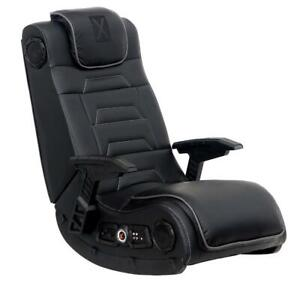 X Rocker Pro Series H3 Gaming Chair with Surround Sound Speaker System. Wireless Stereo Audio. Bass Control. PS4 Xbox