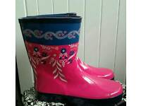 New Johny Lewis wellies size 5